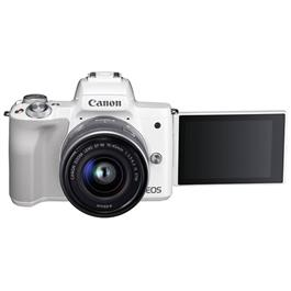 Canon EOS M50 Body With EF-M 15-45mm IS STM Lens Kit - White Thumbnail Image 7